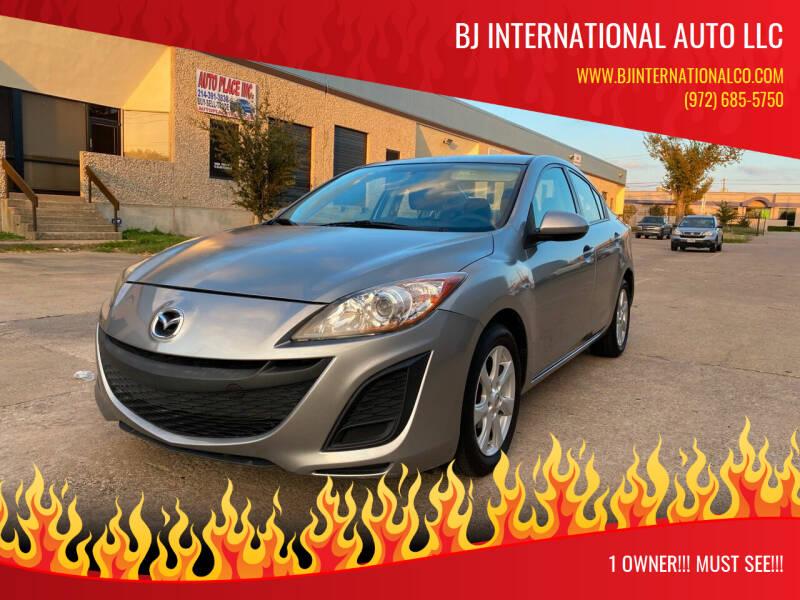 2011 Mazda MAZDA3 for sale at BJ International Auto LLC in Dallas TX
