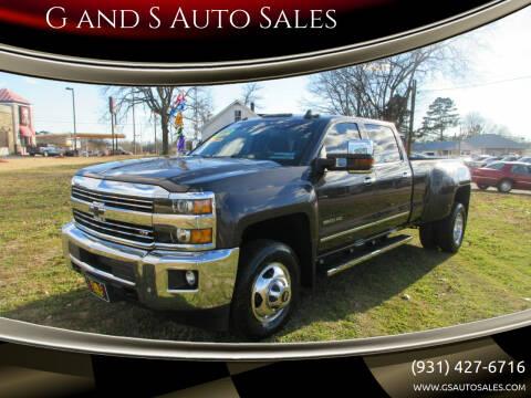 2015 Chevrolet Silverado 3500HD for sale at G and S Auto Sales in Ardmore TN