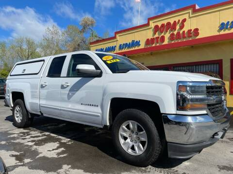2017 Chevrolet Silverado 1500 for sale at Popas Auto Sales in Detroit MI