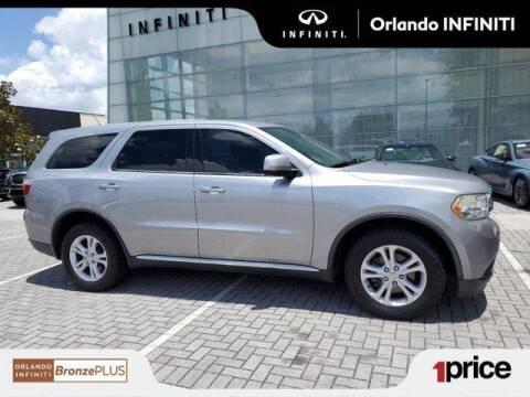2013 Dodge Durango for sale at Orlando Infiniti in Orlando FL