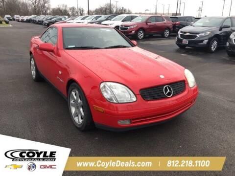 1999 Mercedes-Benz SLK for sale at COYLE GM - COYLE NISSAN - Coyle Nissan in Clarksville IN