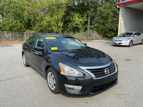 2013 Nissan Altima for sale at Gia Auto Sales in East Wareham MA