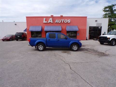 2012 Nissan Frontier for sale at L A AUTOS in Omaha NE