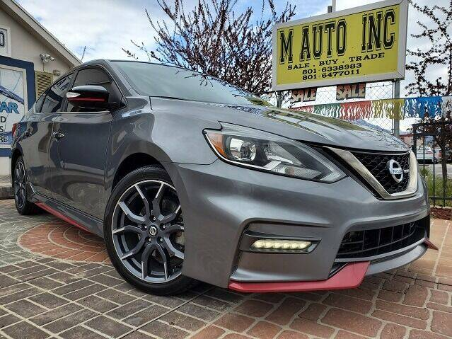2017 Nissan Sentra for sale at M AUTO, INC in Millcreek UT