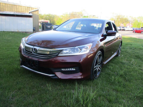 2016 Honda Accord for sale at Triangle Auto Sales in Elgin IL