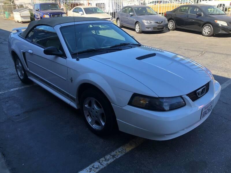 2002 Ford Mustang for sale at Fast Lane Motors in Turlock CA