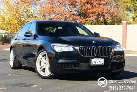 2014 BMW 7 Series for sale at Galaxy Autosport in Sacramento CA