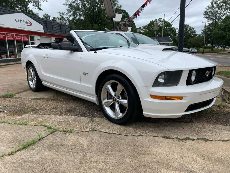 2008 Ford Mustang for sale at C & P Autos, Inc. in Ruston LA
