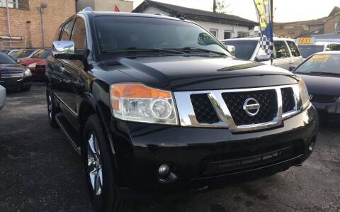 2010 Nissan Armada for sale at Jeff Auto Sales INC in Chicago IL