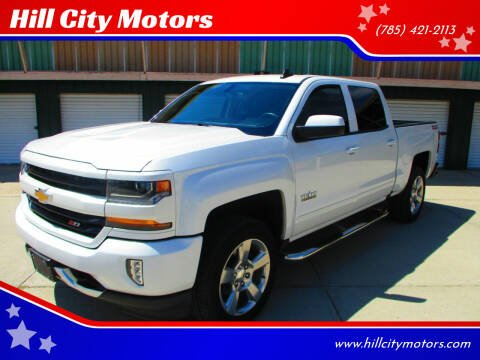 2018 Chevrolet Silverado 1500 for sale at Hill City Motors in Hill City KS