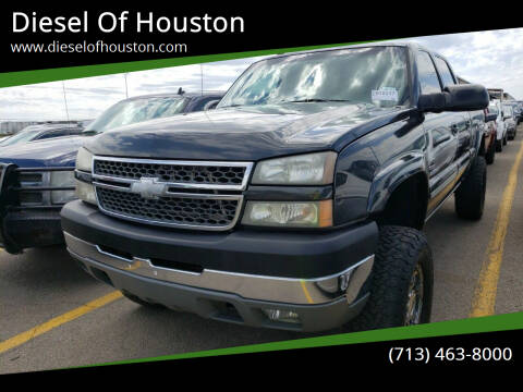 2005 Chevrolet Silverado 2500HD for sale at Diesel Of Houston in Houston TX