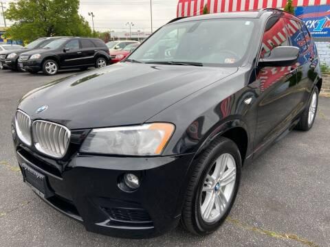 2012 BMW X3 for sale at Mack 1 Motors in Fredericksburg VA