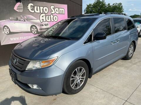 2011 Honda Odyssey for sale at Euro Auto in Overland Park KS