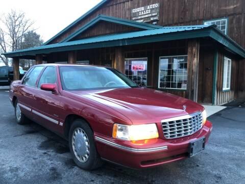 1999 Cadillac DeVille for sale at Coeur Auto Sales in Hayden ID