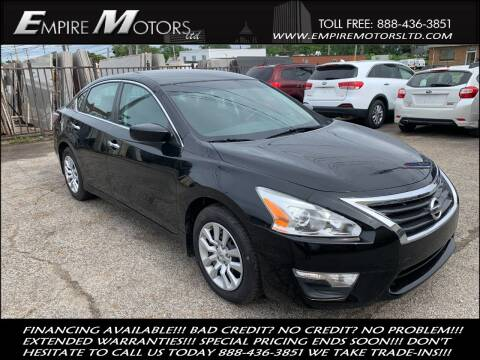 2014 Nissan Altima for sale at Empire Motors LTD in Cleveland OH