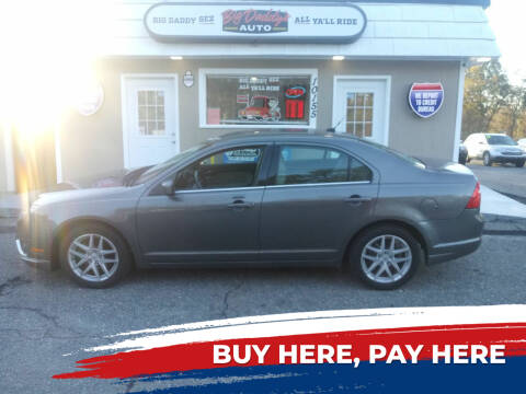 2011 Ford Fusion for sale at BIG DADDY'S  A.L.D. in Winston Salem NC