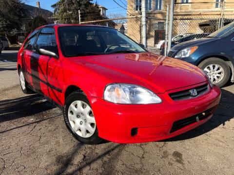 2000 Honda Civic for sale at Jeff Auto Sales INC in Chicago IL