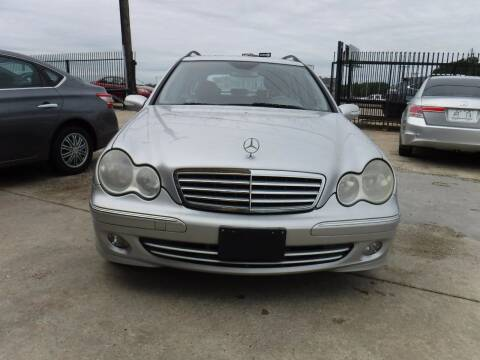 2005 Mercedes-Benz C-Class for sale at N & A Metro Motors in Dallas TX