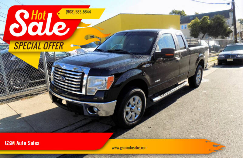 2012 Ford F-150 for sale at GSM Auto Sales in Linden NJ