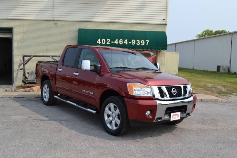 2014 Nissan Titan for sale at Eastep's Wheels in Lincoln NE