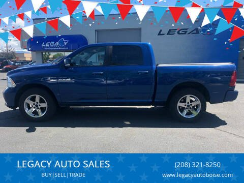 2010 Dodge Ram Pickup 1500 for sale at LEGACY AUTO SALES in Boise ID