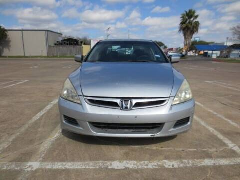 2007 Honda Accord for sale at MOTORS OF TEXAS in Houston TX