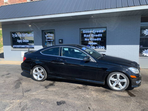 2015 Mercedes-Benz C-Class for sale at Auto Credit Connection LLC in Uniontown PA