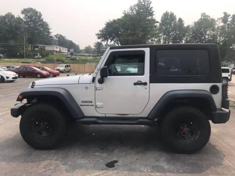 2010 Jeep Wrangler for sale at Premier Auto LLC in Hooksett NH