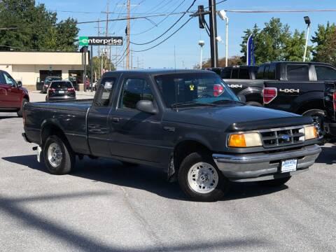 1993 Ford Ranger for sale at Jarboe Motors in Westminster MD