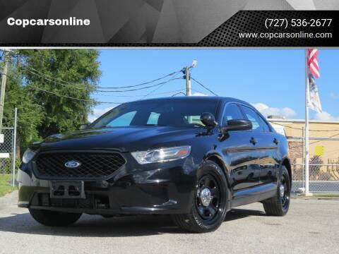 2016 Ford Taurus for sale at Copcarsonline in Largo FL