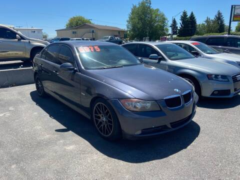 2007 BMW 3 Series for sale at BELOW BOOK AUTO SALES in Idaho Falls ID