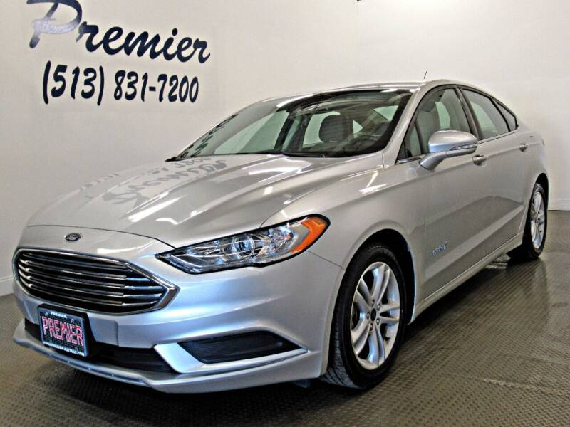 2018 Ford Fusion Hybrid for sale at Premier Automotive Group in Milford OH