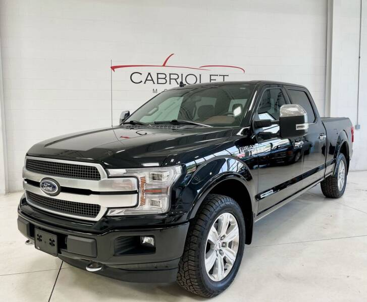2018 Ford F-150 for sale at Cabriolet Motors in Morrisville NC