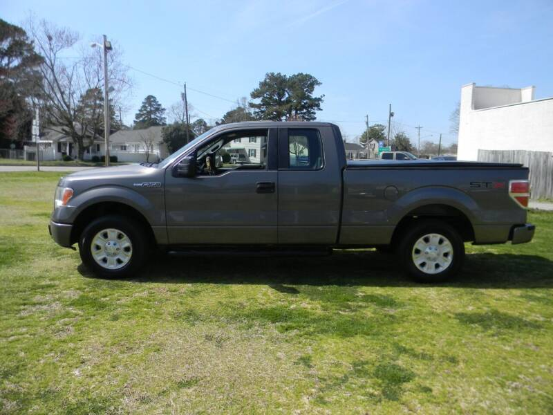 2012 Ford F-150 for sale at SeaCrest Sales, LLC in Elizabeth City NC