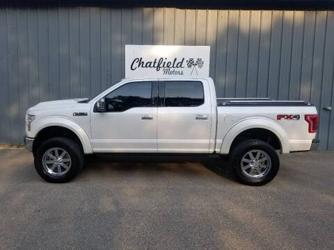 2017 Ford F-150 for sale at Chatfield Motors in Chatfield MN