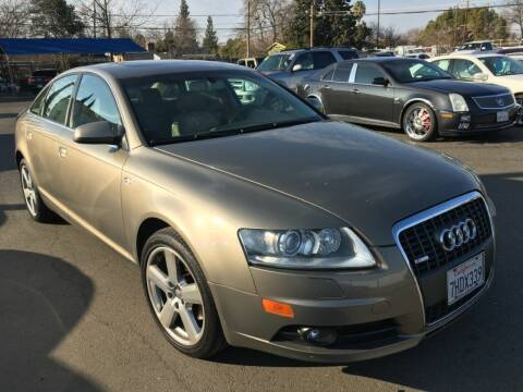 2008 Audi A6 for sale at Dealer Finance Auto Center LLC in Sacramento CA
