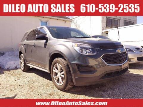 2017 Chevrolet Equinox for sale at Dileo Auto Sales in Norristown PA