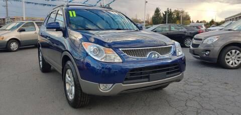 2011 Hyundai Veracruz for sale at I-80 Auto Sales in Hazel Crest IL