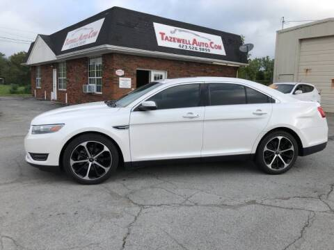 2014 Ford Taurus for sale at HarrogateAuto.com - tazewell auto.com in Tazewell TN