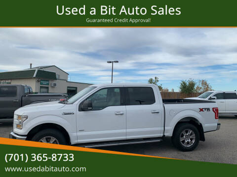 2017 Ford F-150 for sale at Used a Bit Auto Sales in Fargo ND
