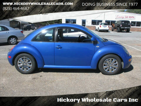 1999 Volkswagen New Beetle for sale at Hickory Wholesale Cars Inc in Newton NC