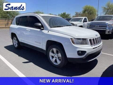 2016 Jeep Compass for sale at Sands Chevrolet in Surprise AZ