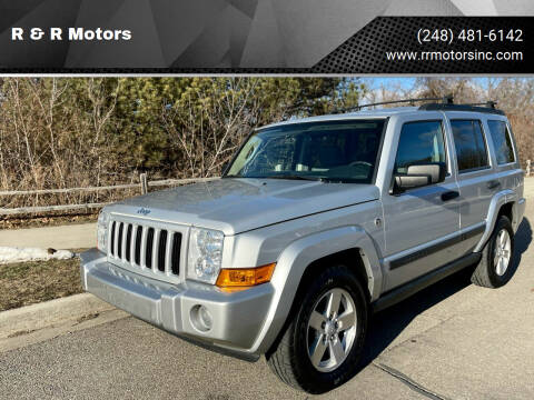 2006 Jeep Commander for sale at R & R Motors in Waterford MI