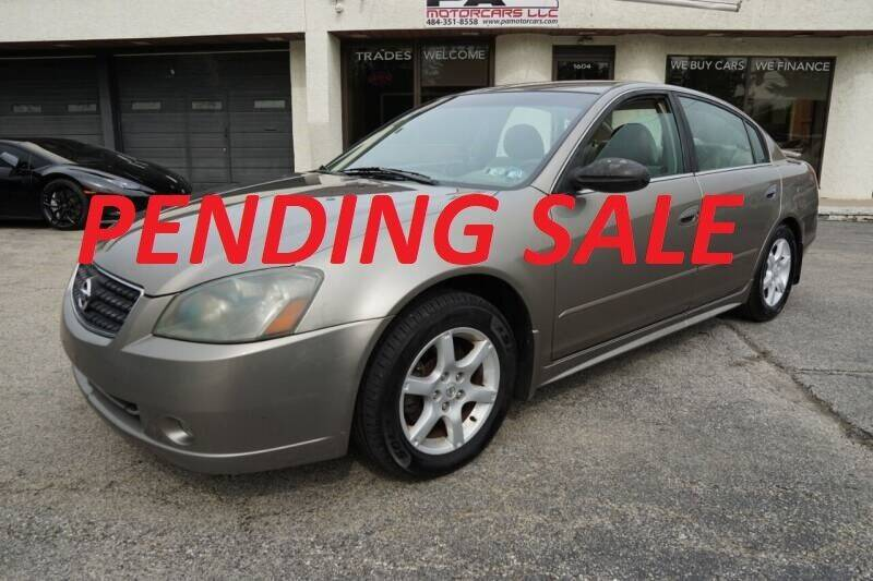 2006 Nissan Altima for sale at PA Motorcars in Conshohocken PA