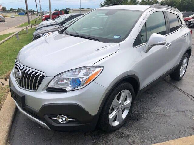 2015 Buick Encore for sale at Kasterke Auto Mart Inc in Shawnee OK