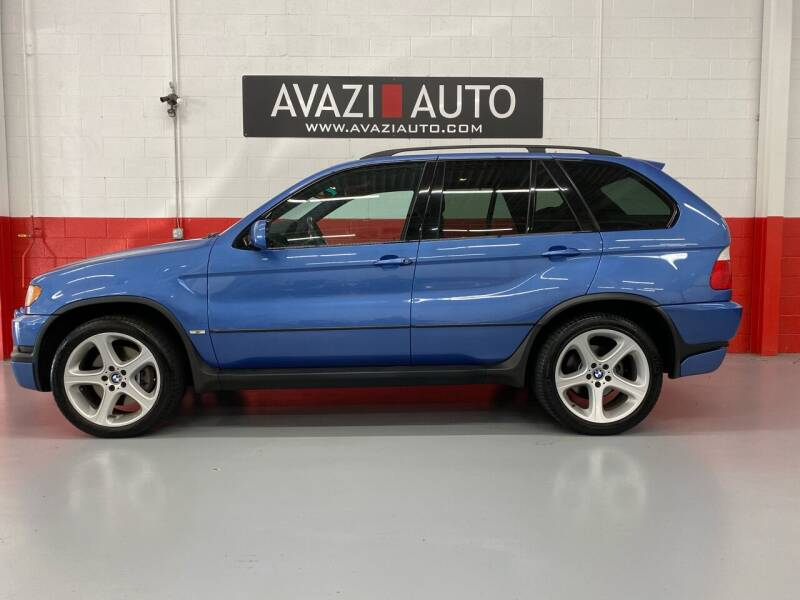 2003 BMW X5 for sale at AVAZI AUTO GROUP LLC in Gaithersburg MD