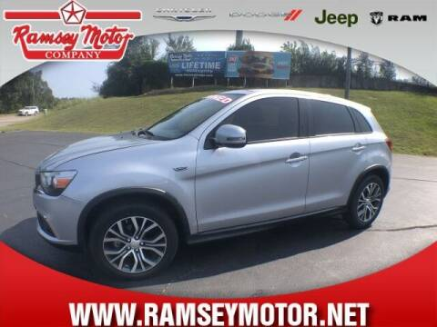 2017 Mitsubishi Outlander Sport for sale at RAMSEY MOTOR CO in Harrison AR