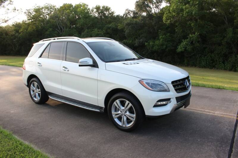 2014 Mercedes-Benz M-Class for sale at Clear Lake Auto World in League City TX