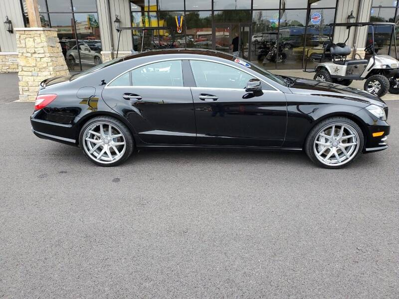2013 Mercedes-Benz CLS for sale at Premier Auto Source INC in Terre Haute IN