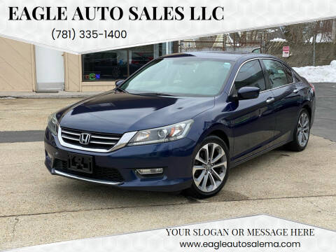 2013 Honda Accord for sale at Eagle Auto Sales LLC in Holbrook MA